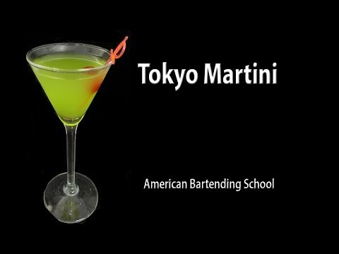 Tokyo Martini Cocktail Drink Recipe