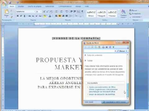 plantilla word informe