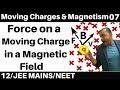 Download Video Moving Charges n Magnetism 07 : Force on a Moving Charge in Magnetic Field : Magnetic Force JEE/NEET MP4,  Mp3,  Flv, 3GP & WebM gratis
