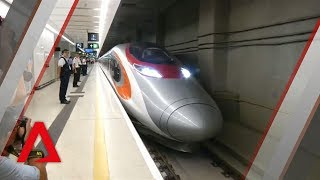 Hong Kong opens first bullet train link with mainland China