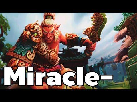 Miracle- Pro Troll Warlord Rank MMR Game