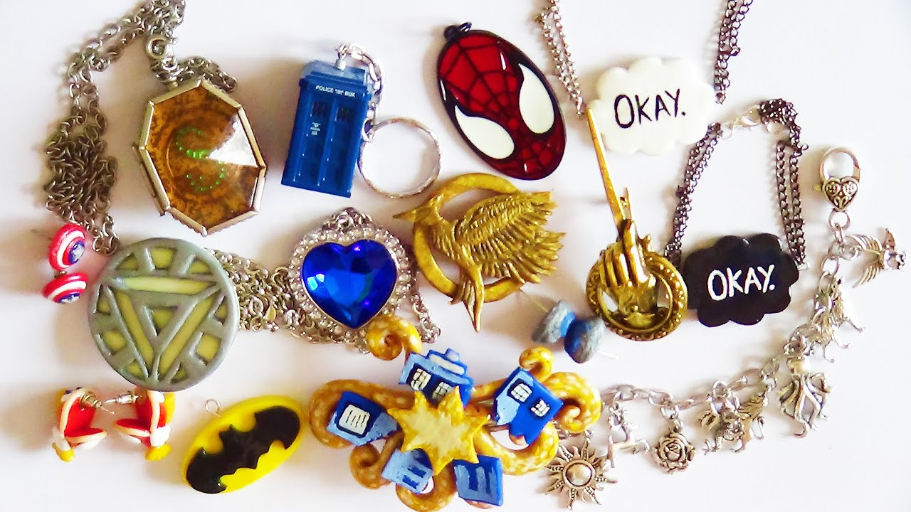 my fandom jewelry collection youtube