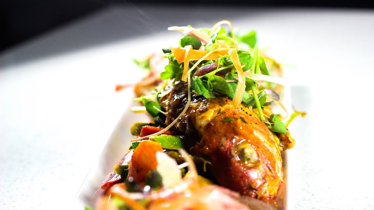 Recipe: Steamed Snapper Fish With Pumpkin & Thai Coconut