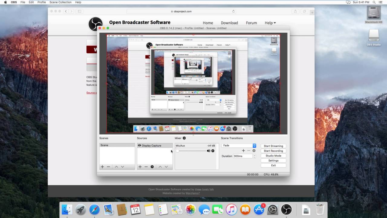 How to make a video of your screen on mac osx el capitan youtube how to make a video of your screen on mac osx el capitan ccuart Images