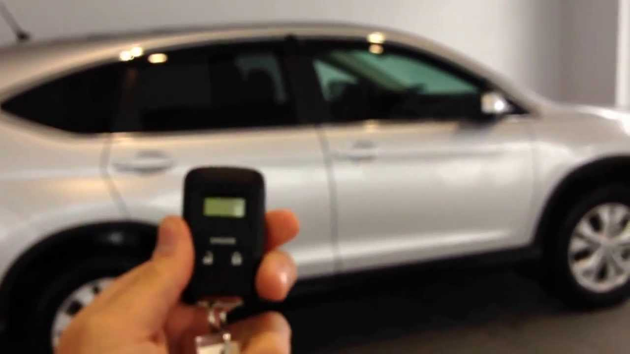 2014 Honda CRV EX AWD Remote Start Simple Tutorial @delaneyhonda   YouTube