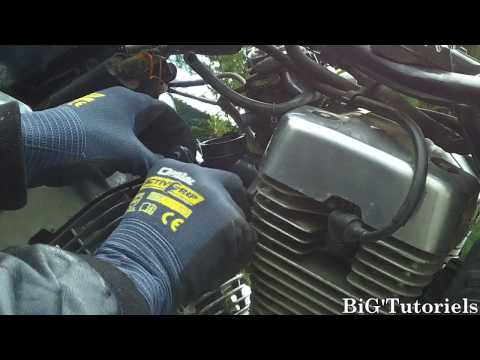 Virago 250 Wiring Diagram Structure Of Human Ear 07 Yamaha Carb Cleanout Youtube 3 47