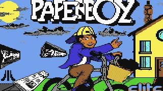 Game Over-music from Paperboy on Commodore 64