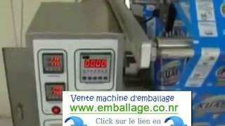 Vente Importation machine emballage alimentaire Maroc