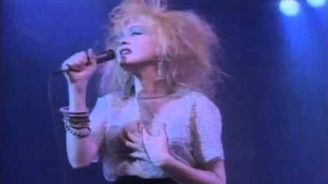 Download Cyndi Lauper - All Through the Night (Live in Paris - 1987)