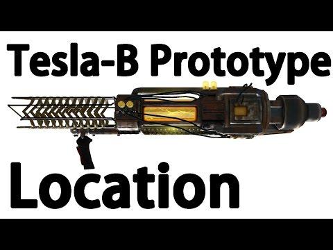 Fallout New Vegas : Tesla Beaton prototype Cannon