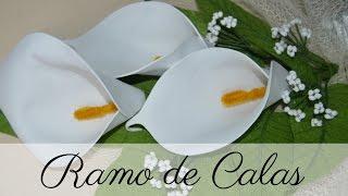 CALAS DE GOMA EVA | FLORES DE GOMA EVA | HECHO A MANO | TUTORIAL