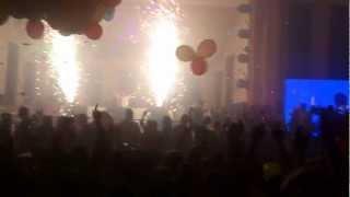 energy 2000 katowice powitanie nowego  2013 roku