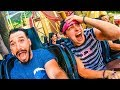WE TAKE OVER AN AMUSEMENT PARK!! w/ Sam, Colby, Corey & Andrea