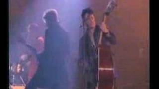 Stray Cats performing Blue Suede Shoes with Eddie Van Halen, B.B. K...