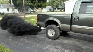 6.0 Powerstroke lope and smoke