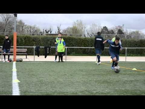 I Clinic de fútbol 1DE11
