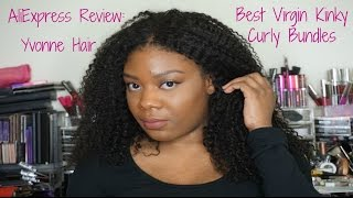 AliExpress Yvonne Hair Review & 5 Month Update| Most Natural Looking Brazilian Kinky Curly Hair