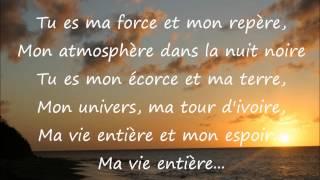 Grégoire - Mon repère Lyrics
