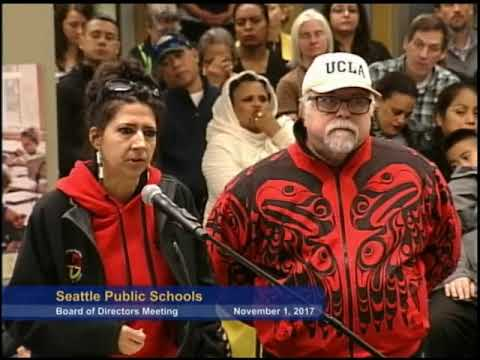 Seattle School Board Meeting November 1, 2017 Part 1