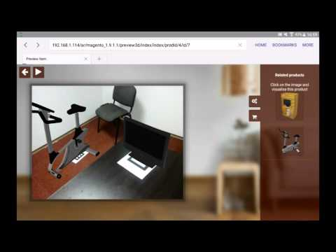 Augmented reality in browser