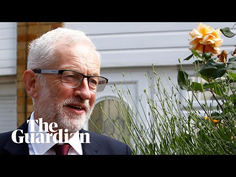 Jeremy Corbyn reacts to Labour losses in EU referendum