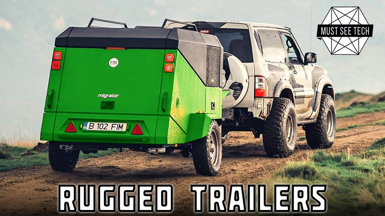 Outdoor Anhänger Top 9 Rugged Camping Trailers For Tough Overlanding Trails 2019 Review
