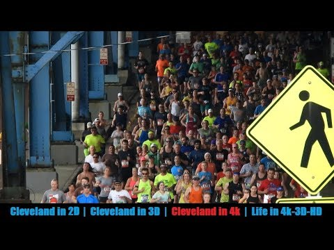 2017 Rite Aid Cleveland Marathon - Through The Flats in 4k (Part 1)