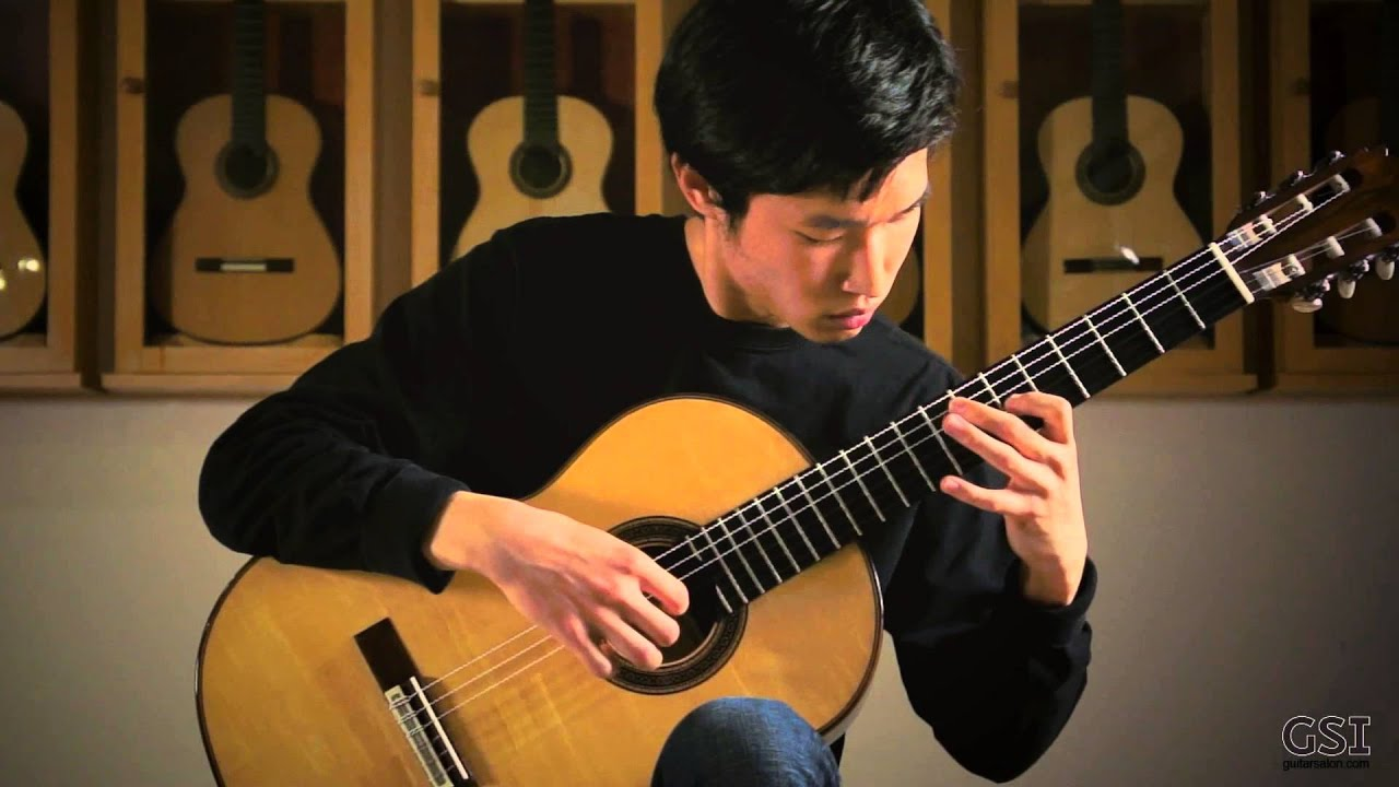Guitar Salon International York Bagatelle Played By Alex Park - Youtube