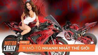 Top 11 siêu môtô nhanh nhất thế giới, Ducati 1098S đứng bét bảng |MOTORDAILY.VN|