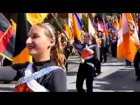 University of Tennessee Pride of the Southland Band Salute to the Hill 09/17/2016