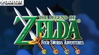 The Legend of Zelda: Four Swords Adventures - Gamecube Gameplay 1080p (Dolphin GC/Wii Emulator)