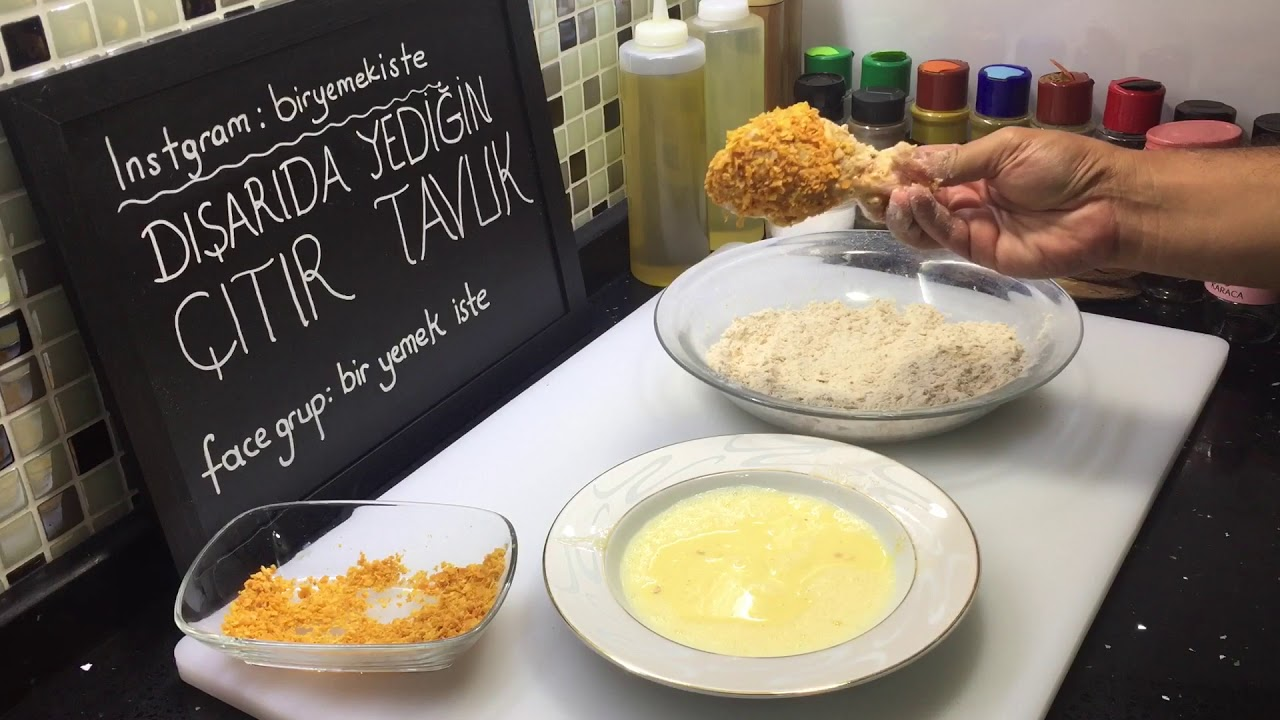 KFC Kadar Güzel Çıtır Tavuk Sırrı | KFC Tavuğu Nasıl Yapılır?