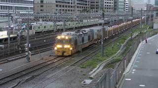 【LRA】 新幹線ロングレール輸送用機関作業車 返却回送