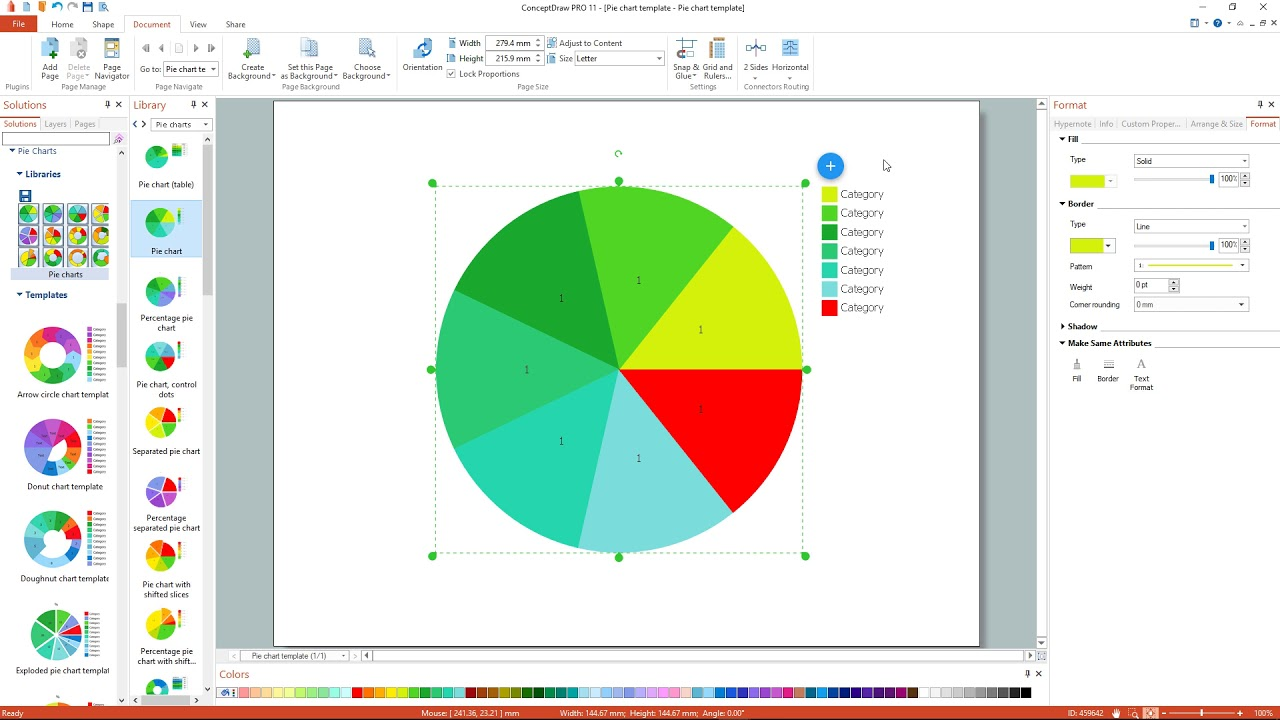 How to create a pie chart youtube how to create a pie chart geenschuldenfo Choice Image