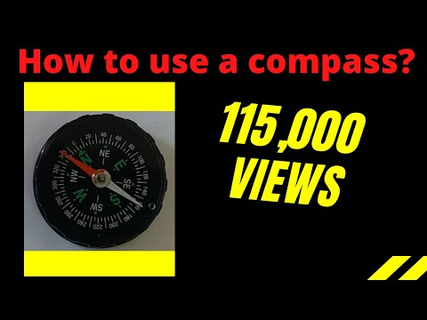 How To Find Directions Using A Compass Needle?