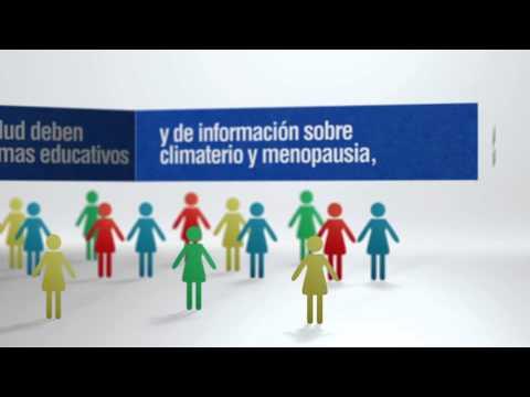 Spot informativo sobre servicios de Salud Sexual y Reproductiva. Climaterio y Manopausia
