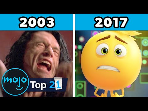 Top 21 Worst Movies of Each Year (2000 - 2020)
