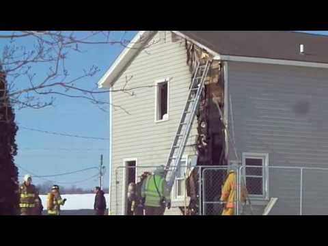 House fire in Covington, NY