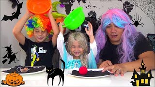Halloween Costume Switch up Challenge -  Mainan Kostum Badut Badutan Lucu