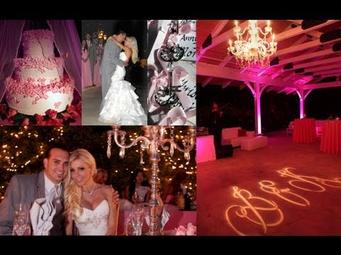 My Wedding Pictures Romantic Garden Venue With Pink