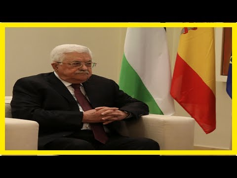 World News - Palestinian President abbas will not meet U.s. cents in offshore areas-