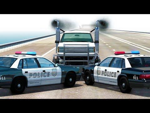 POLICE BLOCKADE BUSTING ENDURANCE CHALLENGE