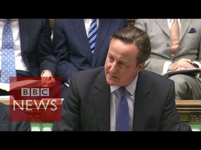 Cameron: Military action is only 'one part of the answer' - BBC News