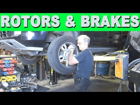 How to Remove and Replace Brake Pads and Rotors – 2005 Acura MDX