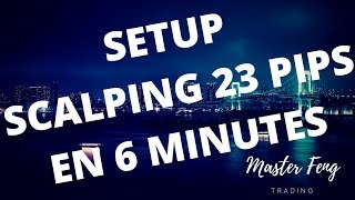 [FORMATION TRADING FOREX] COMMENT J'AI PRIS 23 PIPS EN SCALPING EN 6 MINUTES?