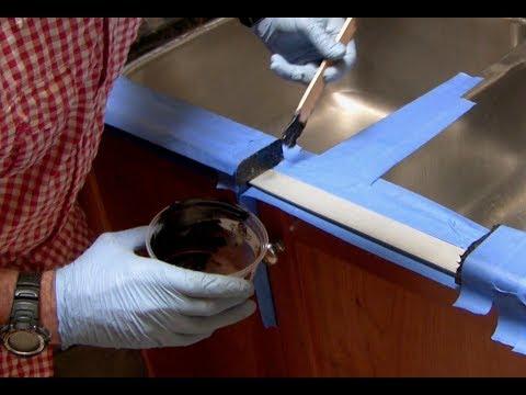 How to fix a Broken Granite Countertop