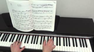 """Л. Бетховен """"К Элизе"""". Урок для фортепиано Часть 2."""