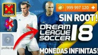 How to hack dream league soccer 2018 _ Get Unlimited Coins _ No Root & No App_HD
