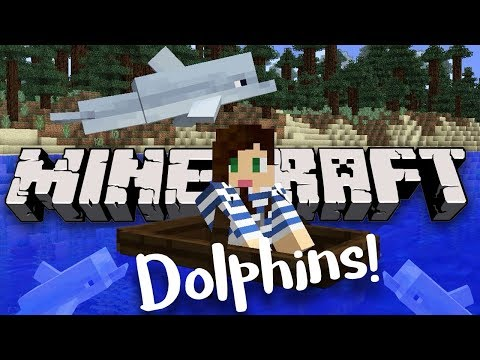 New Dolphins In Minecraft | StacyPlays
