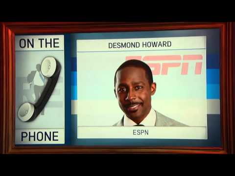 Former Heisman Trophy Winner Desmond Howard on The Rich Eisen Show - 11/25/15
